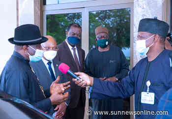 Buhari naming Warri-Itakpe rail line after me good gesture –Jonathan - Daily Sun