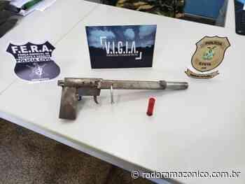 Em Manacapuru, homem é preso por homicídio e posse ilegal de arma de fogo - radar amazonico