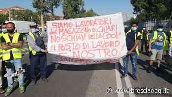 I facchini di Chiari tra protesta e solidarietà - Brescia Oggi