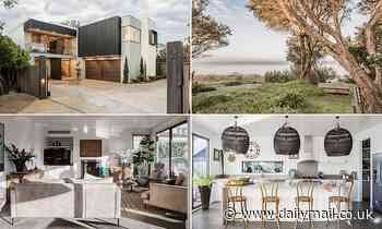 Mornington Penisula residence with its own stretch of sand on Balnarring Beach hits the market - Daily Mail