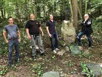 Friedhof: Zeppelin-Grabstein wieder in Eberswalde - Märkische Onlinezeitung
