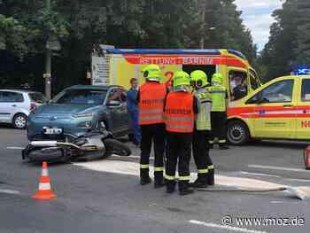 Verkehrsunfälle: Zwei Motorradfahrerinnen in Eberswalde verunglückt - Märkische Onlinezeitung