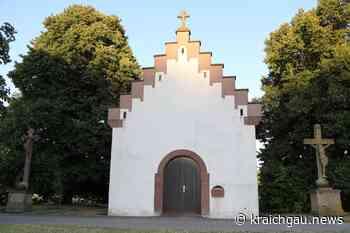 Bis heute eine Pilgerstätte: Maria-Hilf-Kapelle in Walzbachtal-Jöhlingen - kraichgau.news