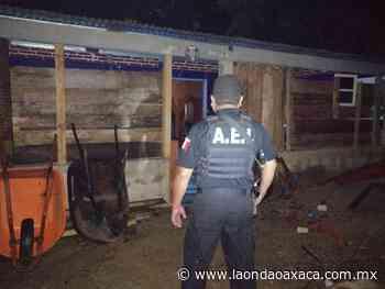 Coordina y ejecuta Fiscalía General cateo en San Gabriel Mixtepec; asegura droga y detiene a probable narcomenudista - La Onda Oaxaca