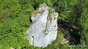 Höhle in Blaubeuren - Werkzeuge der Steinzeit-Schwaben entdeckt - BILD