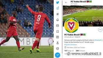Die FCV-Strahlkraft: Sutter und Coulibaly alias Ronaldo und Neymar - Liechtensteiner Volksblatt