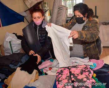 Campaña Abrigando: más de 150 chicos del Comedor Piedra Blanca recibieron ropa gracias a las donaciones - godoycruz.gob.ar