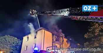 Wismar: Zwei große Brände in Mehrfamilienhäusern am Wochenende - Ostsee Zeitung