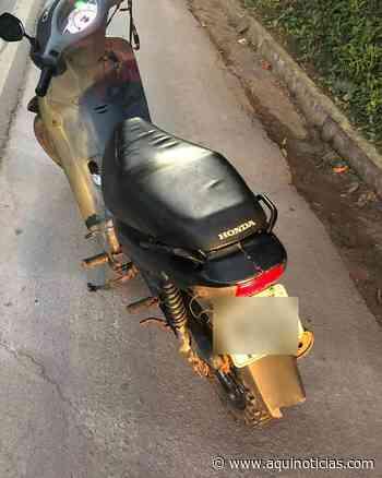 Moto furtada em Muniz Freire é recuperada em Venda Nova do Imigrante - Aqui Notícias - www.aquinoticias.com