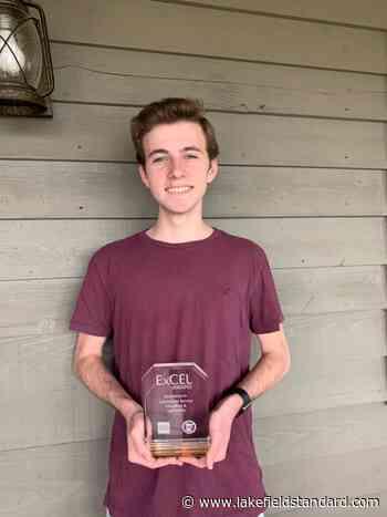 Christopher named ExCEL Award winner - Lakefield Standard