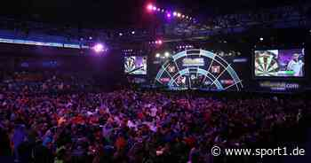Darts-WM 2021 soll laut Werner von Moltke im Ally Pally mit Fans steigen - SPORT1