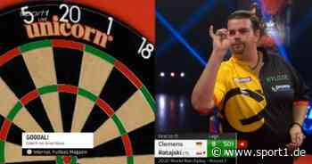 Darts World Matchday: Tag 4 mit Michael van Gerwen, Gabriel Clemens, James Wade - SPORT1