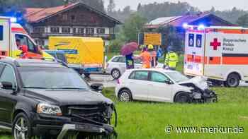 Unfall bei Kappleralm: Stau auf B318 zwischen Gmund und Warngau - Merkur.de