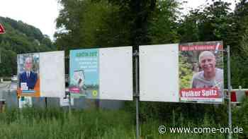 Kommunalwahl in Altena: Plakate hängen, obwohl Erlaubnis fehlt - come-on.de