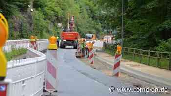 Großbaustelle B236 in Altena: Nächste Etappe beginnt - come-on.de