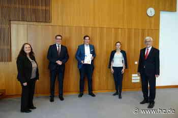 Innovationspreis der Wiro: Giengen als innovative Stadt ausgezeichnet - Heidenheimer Zeitung