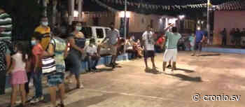 FOTOS   Habitantes de Apastepeque deciden celebrar fiestas patronales - Diario Digital Cronio de El Salvador
