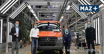 Ludwigsfelde: Im Mercedes-Werk war das erste Halbjahr von Corona geprägt - Märkische Allgemeine Zeitung