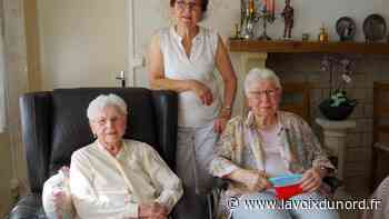 Wingles : Marie-Thérèse Lefort a fêté ses 100 ans - La Voix du Nord