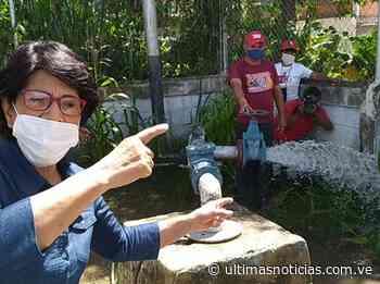 "Reactivan pozo de agua ""Manuelita Sáenz"" en Cagua - Últimas Noticias"