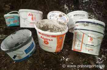 POL-OG: Gaggenau - Illegale Müllentsorgung, Zeugen gesucht - Presseportal.de