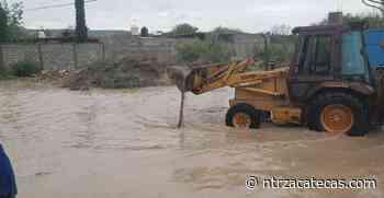 Se inunda Juan Aldama y Miguel Auza - NTR Zacatecas .com