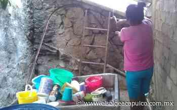 Habitantes de Llano Largo piden solucionar escasez de agua - El Sol de Acapulco
