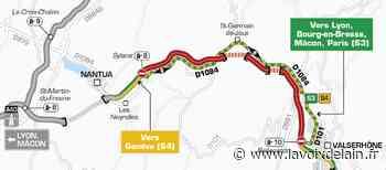 Entre Sylans et Bellegarde - L'autoroute sera fermée les 28 et 29 juillet - La Voix de l'Ain
