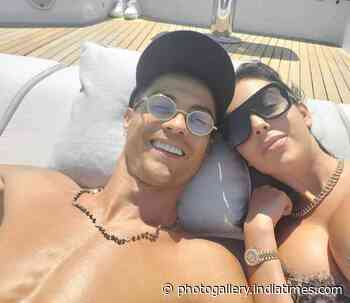 Personal pictures of lovebirds Cristiano Ronaldo & Georgina Rodriguez are too good to miss! - Times of India
