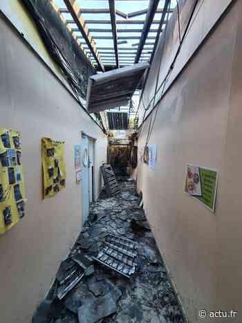 Yvelines. Une partie de l'école de Jouars-Pontchartrain détruite par un incendie - actu.fr