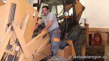 Proceso de reparación y mantenimiento a la maquinaria vial de Teruel - Noticias