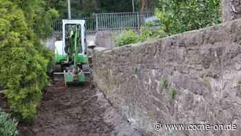 Bauarbeiten für Rampenanlage in Balve laufen - Meinerzhagener Zeitung