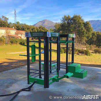 Une première aire de fitness connectée en accès libre débarque à Corte - Corse Net Infos