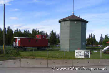 100-year-old Lone Butte Water Tower painted - 100 Mile House Free Press