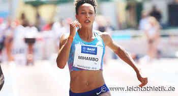 Malaika Mihambo sprintet in Weinheim in die Late Season - Leichtathletik