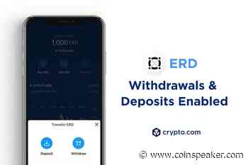 3 Million Crypto.com Users Can Buy and Sell ERD Following Elrond... - Coinspeaker