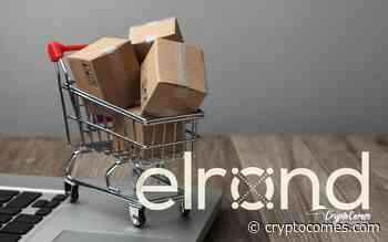 Elrond Now Accepted in Close to Five Mln Online Stores, ERD Price Spikes 10 Percent - CryptoComes