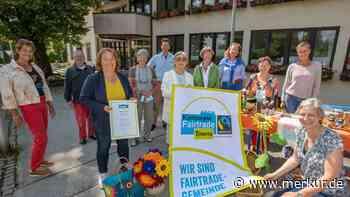 Aus Überzeugung und auf breiter Basis: Tutzing feiert Fairtrade-Auszeichnung - Merkur.de