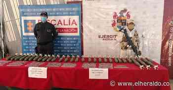Ejército encuentra material explosivo del ELN en Maicao - EL HERALDO