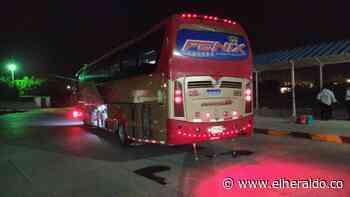 Inmovilizan buses en Maicao por incumplir medidas - EL HERALDO