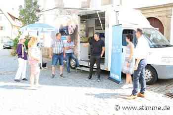 Vor-Ort-Termin in Waldenburg: Heiße Debatten im Schatten - Heilbronner Stimme