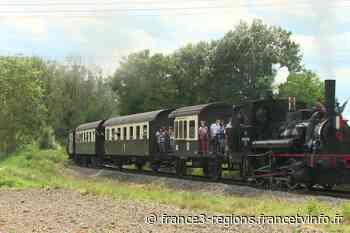 """Balade en locomotive à vapeur avec l'association """"Chemin de Fer Touristique du Rhin"""" - France 3 Régions"""