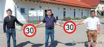 Ortsteil in Mainburg: Initiative Pro Tempo 30 findet großen Zuspruch - idowa