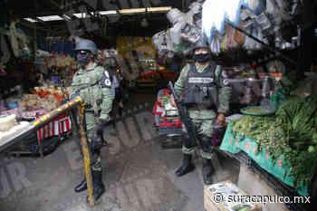 Impide la GN la entrada al mercado de Chilpancingo sin cubrebocas - El Sur Acapulco suracapulco I Noticias Acapulco Guerrero - El Sur de Acapulco
