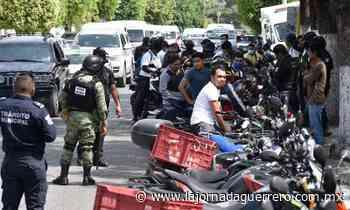 Instalan autoridades el operativo Motociclista Seguro en Chilpancingo - La Jornada Guerrero
