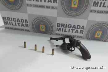 BM prende homem por porte ilegal de arma em Cachoeira do Sul - GAZ