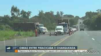 Rodovia que liga Piracicaba a Charqueada passa por obras de recuperação do asfalto - G1