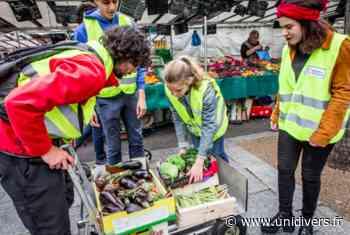 Glanez des fruits invendus avec Moissons Solidaires (Vitry) samedi 25 juillet 2020 - Unidivers