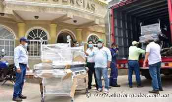 Asbama hace entrega de equipos médicos al municipio de Ciénaga - El Informador - Santa Marta