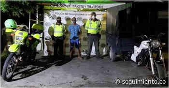 Venezolano roba motocarro en Ciénaga y minutos después fue capturado - Seguimiento.co